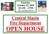Central Marin Fire Department Open House
