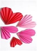 Origami Valentines with Tas Bringas