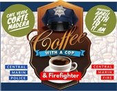 Coffee with a Cop and Firefighter