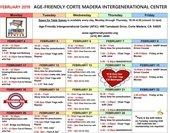 AGIC February Schedule