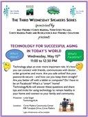 Third Wednesday Speaker Series