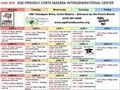 AFIC June Schedule