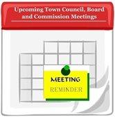Upcoming Town Meetings