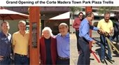 Grand Opening of the Corte Madera Town Park Plaza Trellis