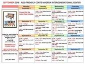 IGC September Schedule