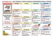 IGC November Schedule