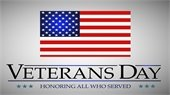 Veterans Day - Legal Holiday