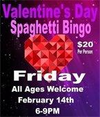 Valentine's Day Spaghetti BINGO