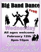 Big Band Valentine's Dance