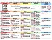 AFIC March Schedule