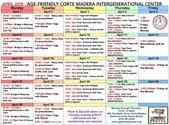 AFIC April Schedule