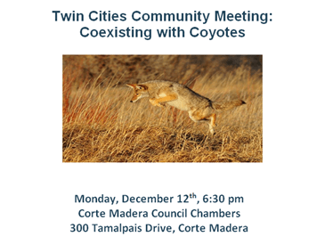 Coexisting With Coyotes Meeting