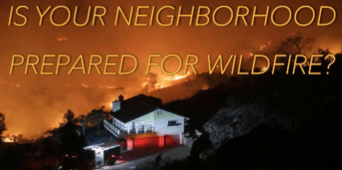 Neighborhood Wildfire