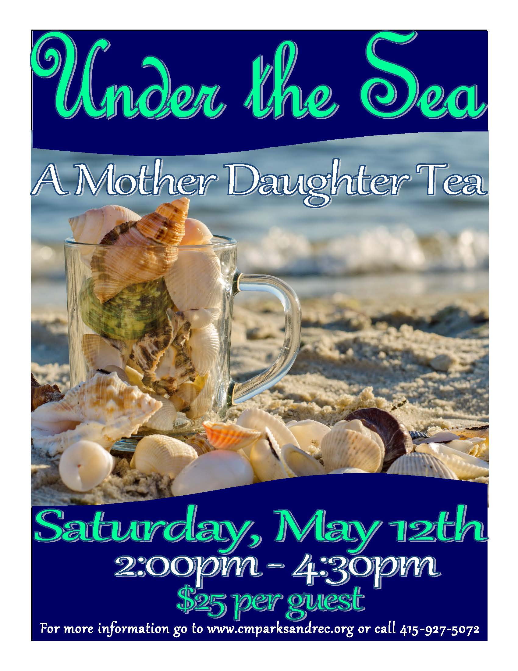 under the sea tea