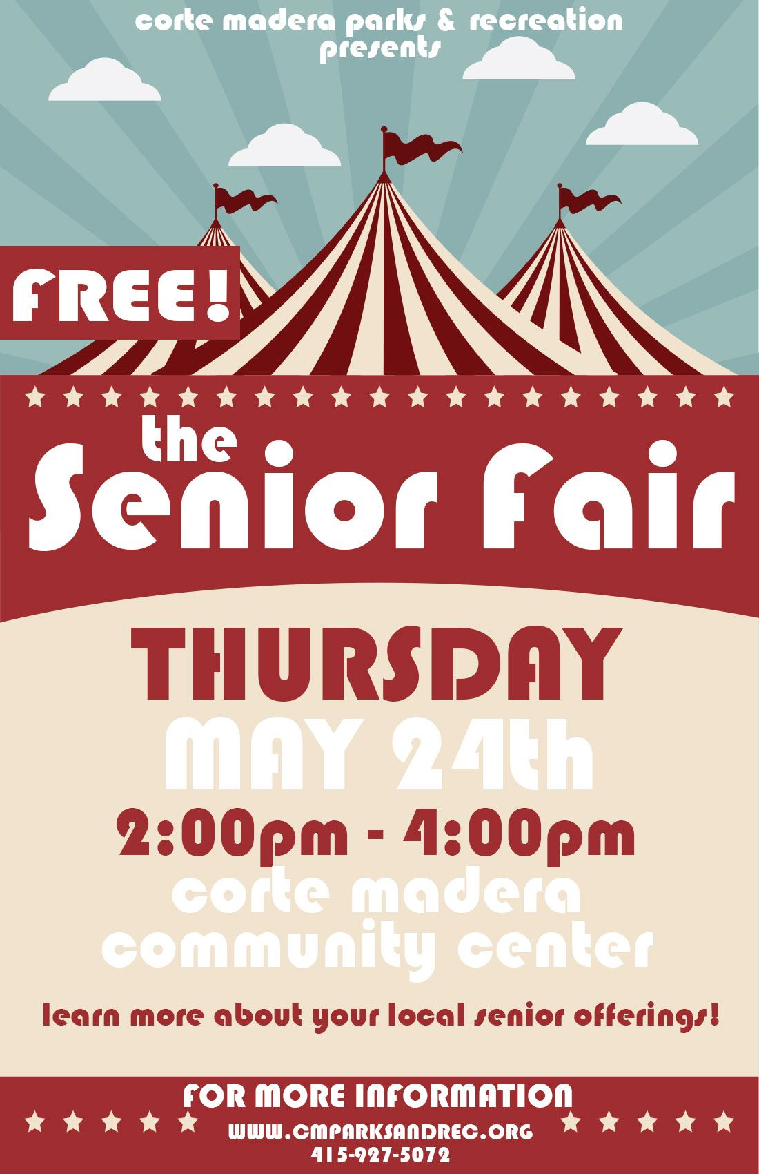 Senior Fair 2018 Flyer