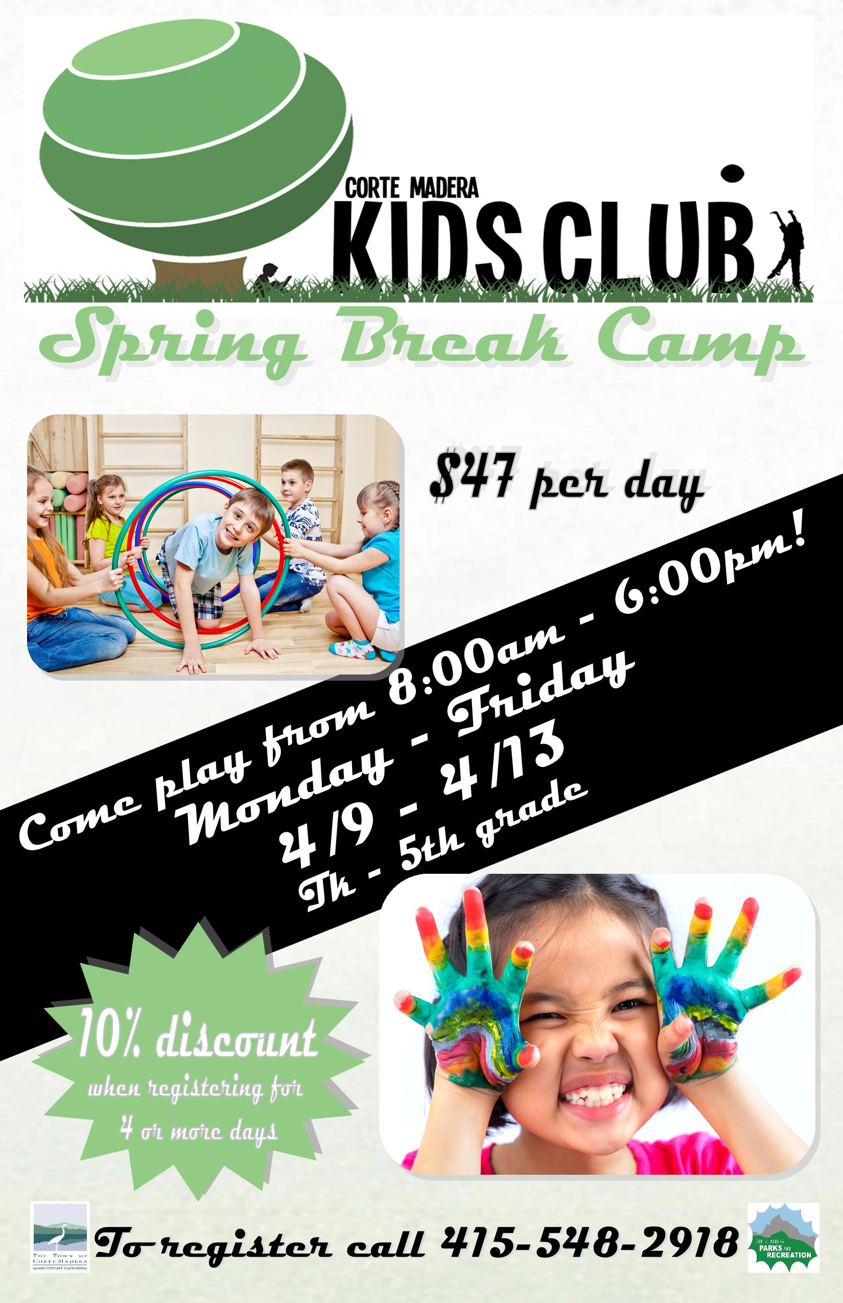 Kids Club Spring Break