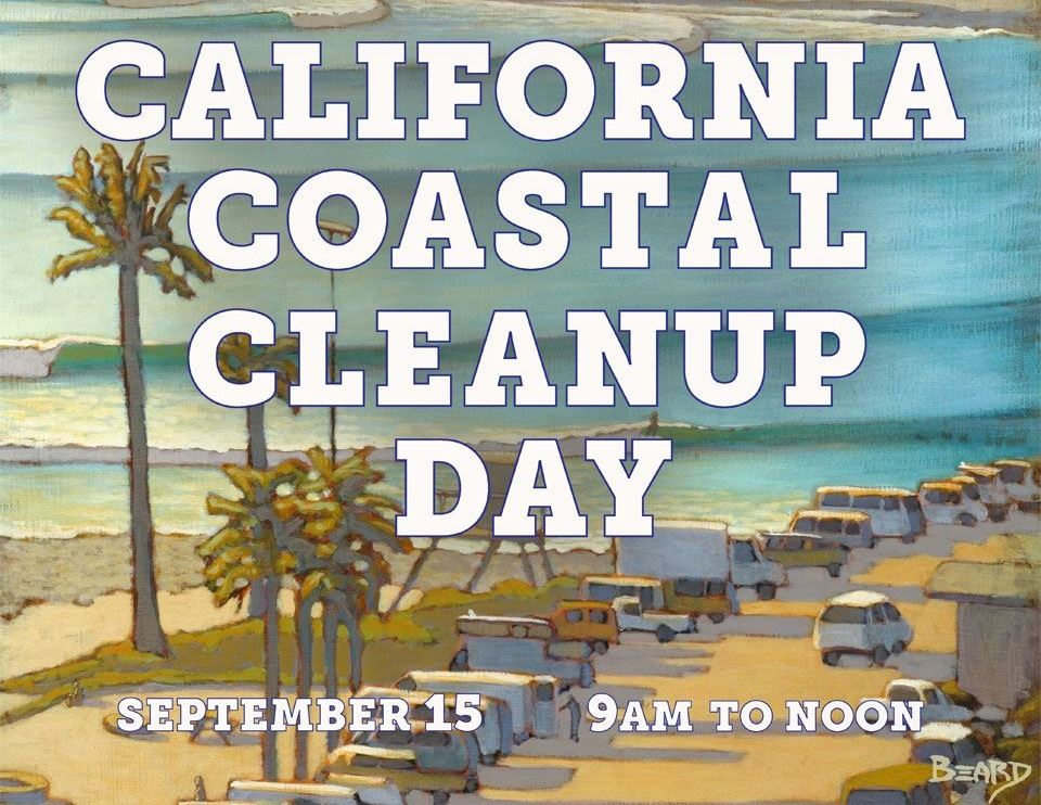 California Coastal Clean Up Day 2018