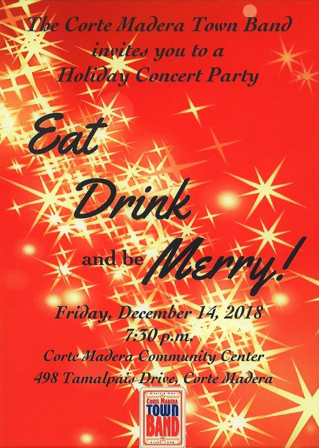 Corte Madera Town Band Holiday Concert Party