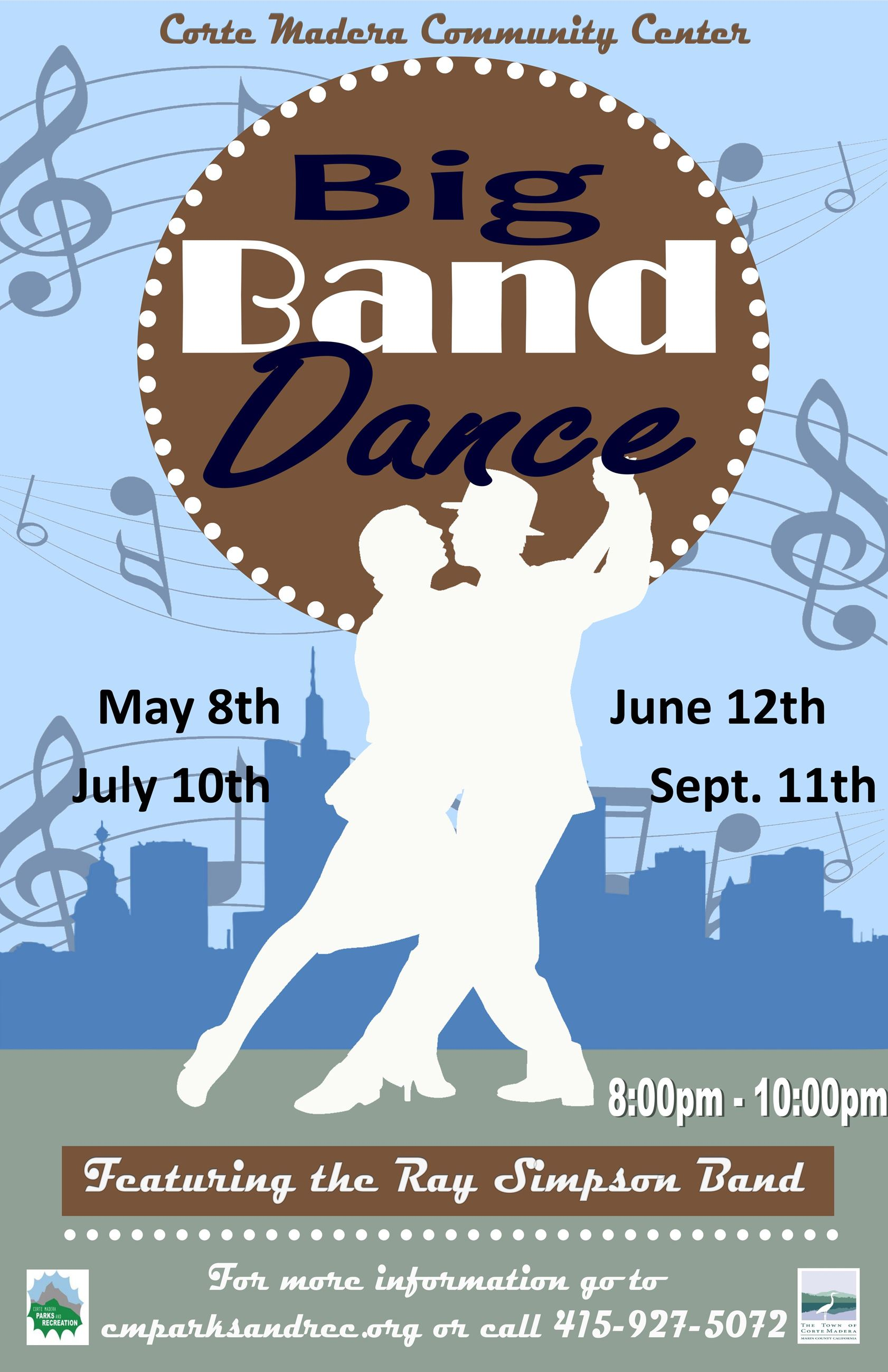 Big Band Dance 2019 May to September