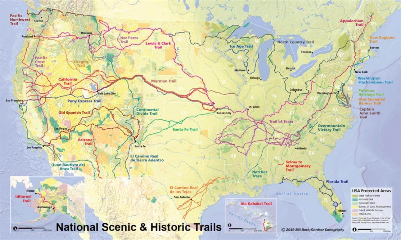 Discover Americas National Trails