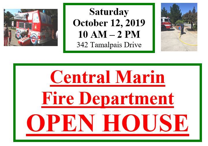 Central Marin Fire Open House