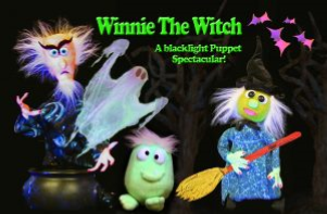 Winnie the Witch Blacklight Puppet Show