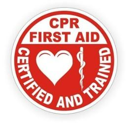 CPR and First Aid Trained Image